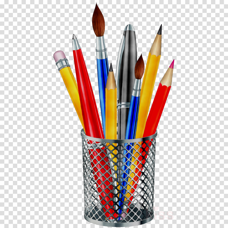 Stationery . Clipart pencil pen