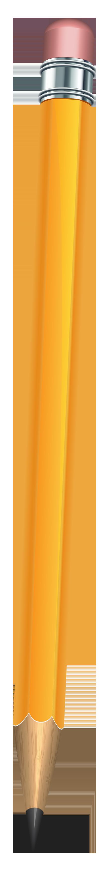 Clipart pencil school. Yellow png clip art