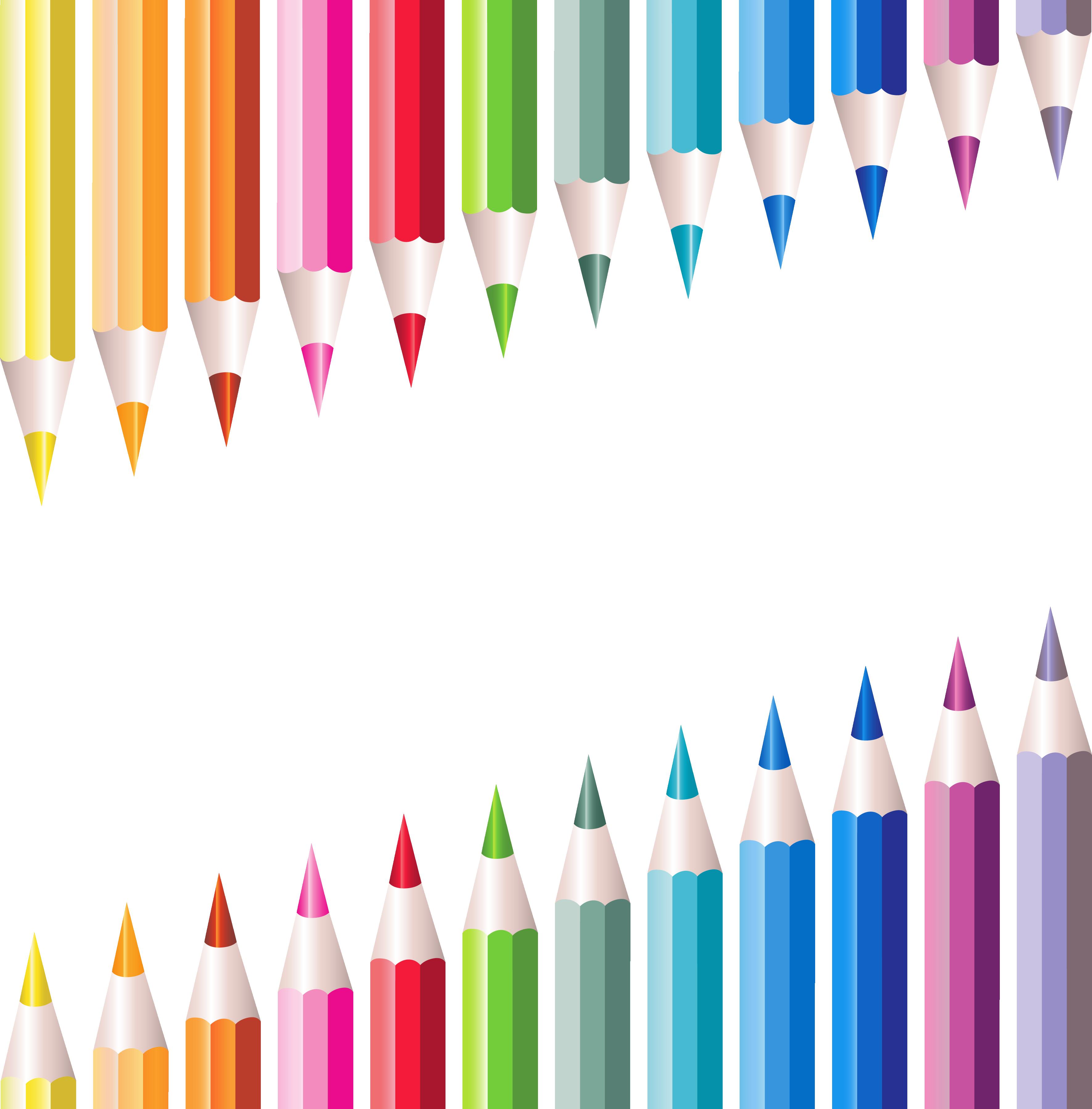 Transparent pencils decoration pinterest. Clipart pencil school