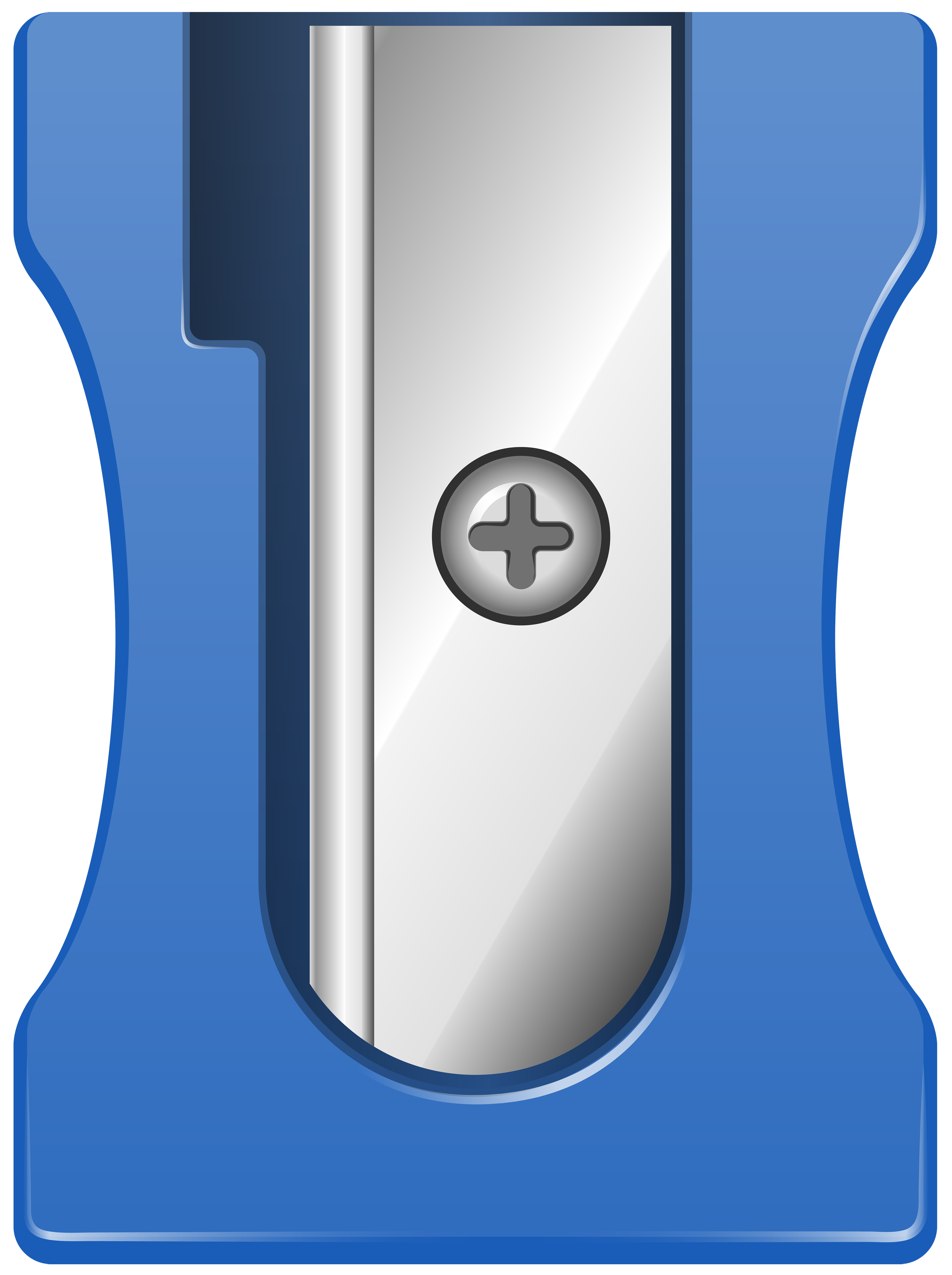Electric clipart computer. Blue pencil sharpener png