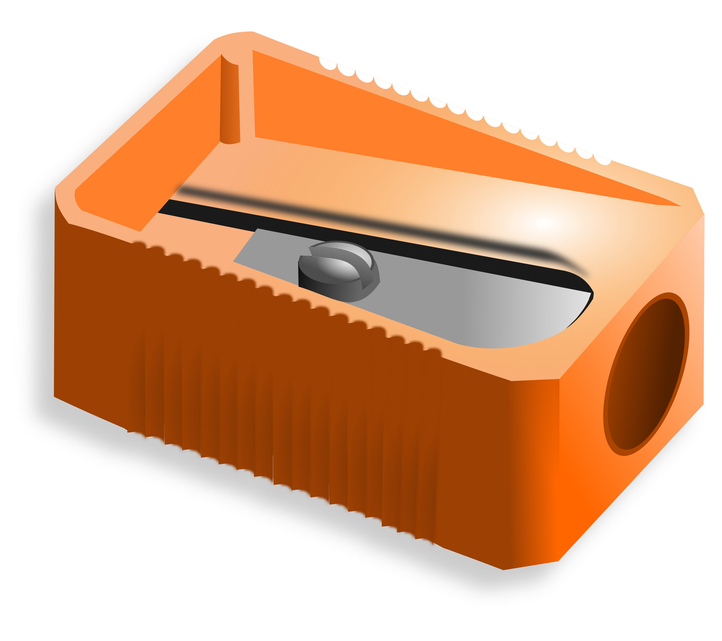 Sharpener big image png. Clipart pencil simple