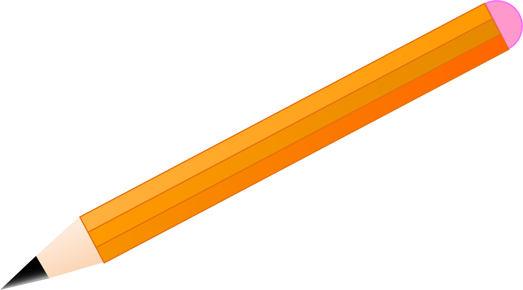 collection of pencil. Pencils clipart simple