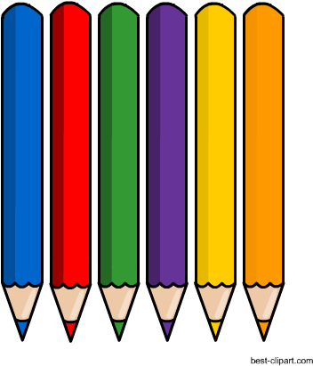 Free Colored Pencils Clipart, Download Free Clip Art, Free Clip Art on  Clipart Library