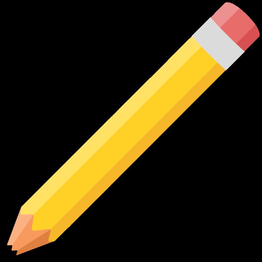 Cartoon collection art of. Pencil clipart logo