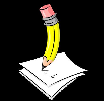 Write writing clip art. Writer clipart pencil