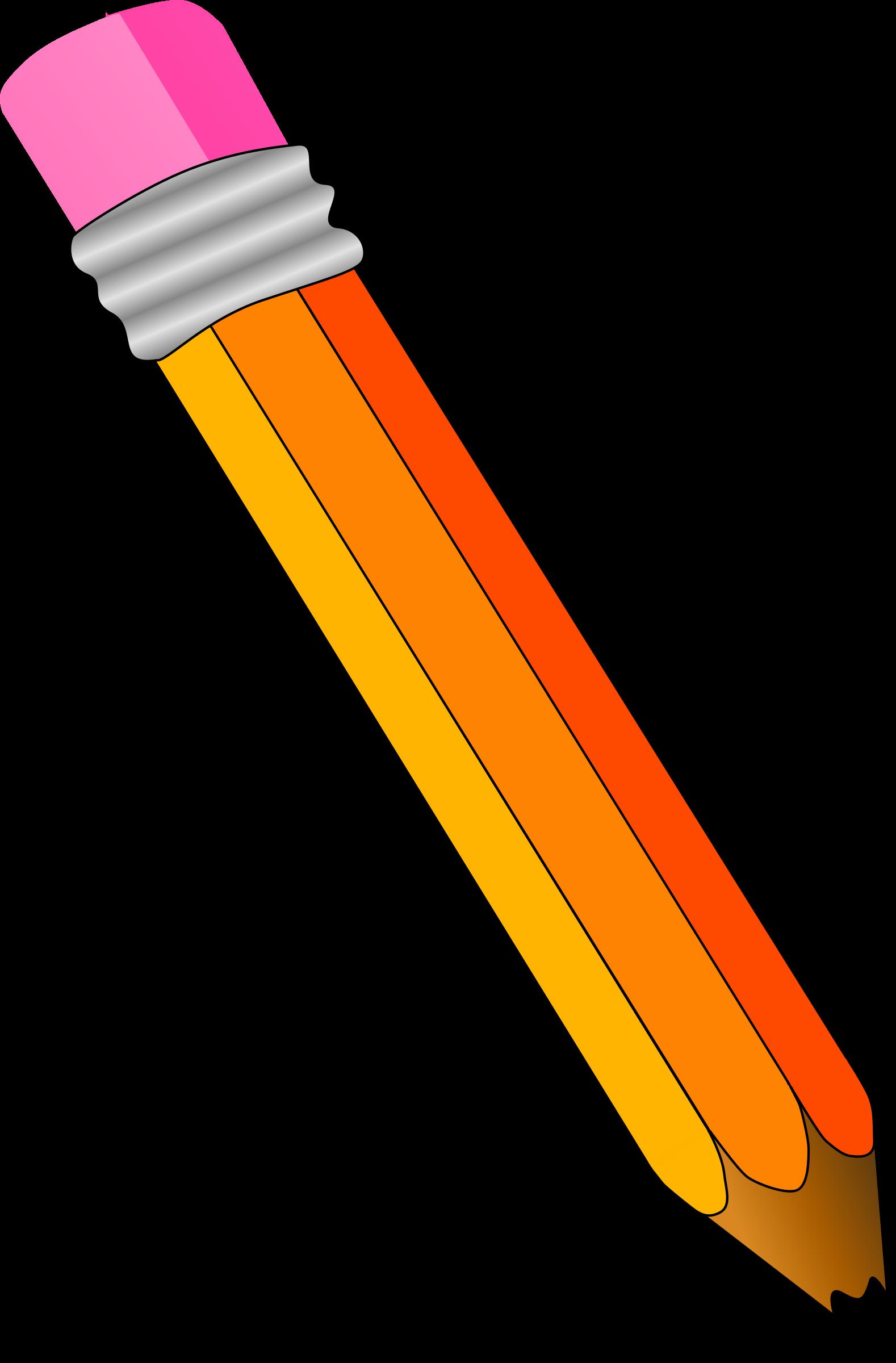 Pencil clipart. Big image png
