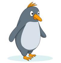 Penguin clipart. Free clip art pictures