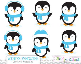 Penguin etsy clip art. Penguins clipart