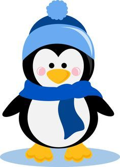 Cute penguin clip art. Penguins clipart