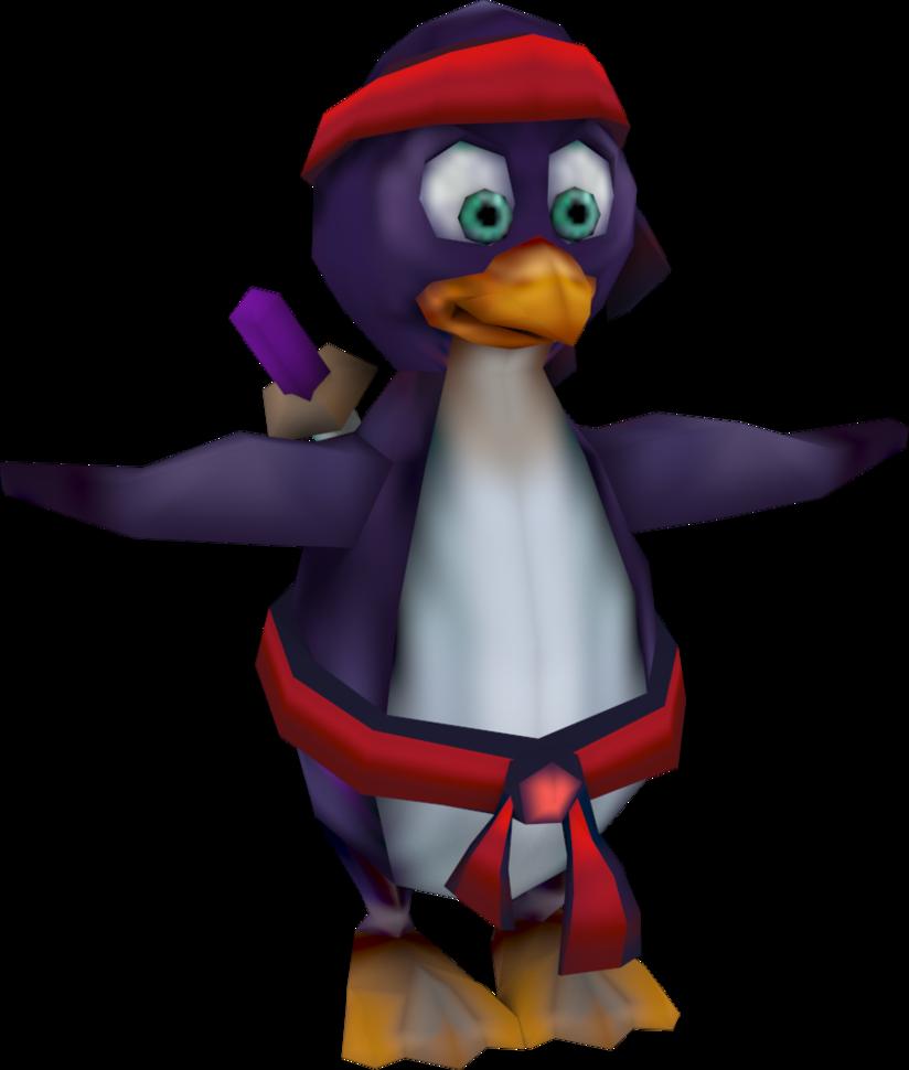 Clipart penguin adelie penguin. Ninja crash tag team