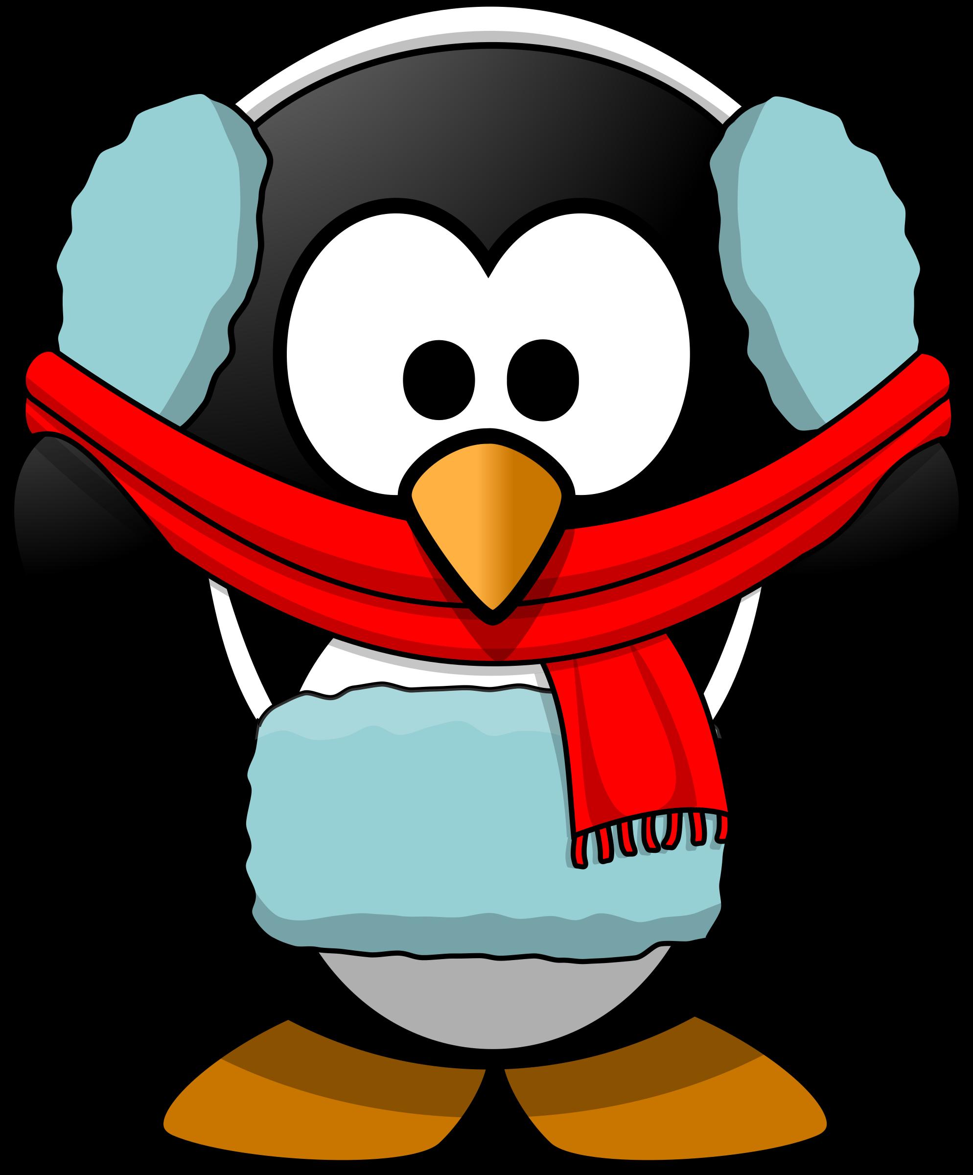 Freezin big image png. Clipart penguin bird