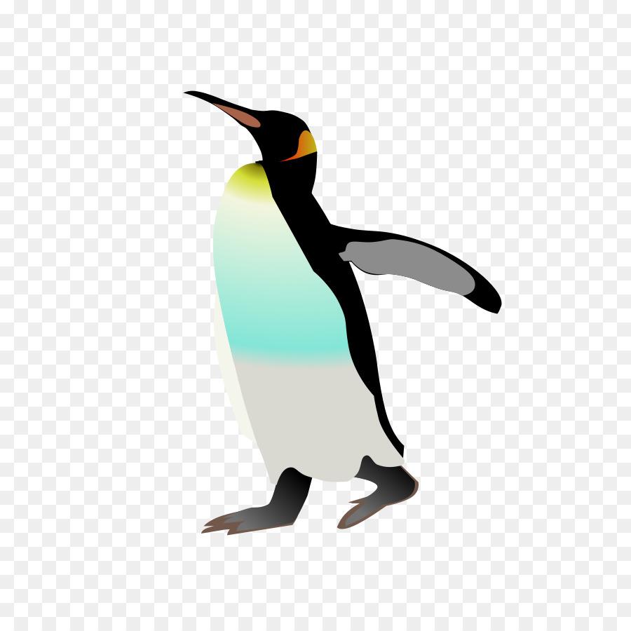 Clipart penguin bird. Cartoon graphics transparent