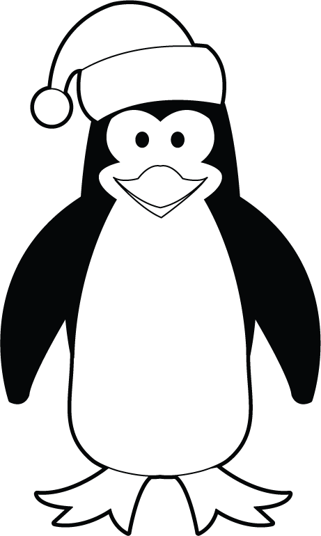 collection of christmas. Clipart penquin break