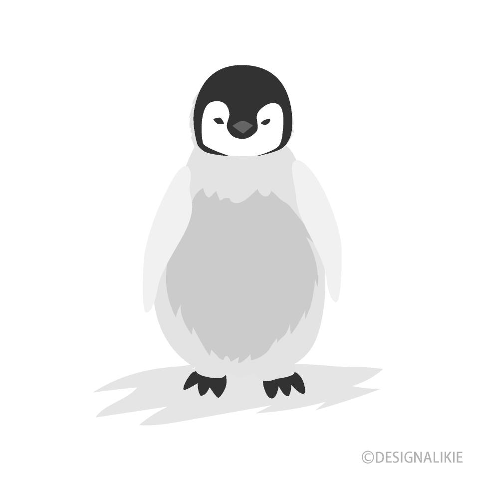 Clipart penguin child. Free picture illustoon