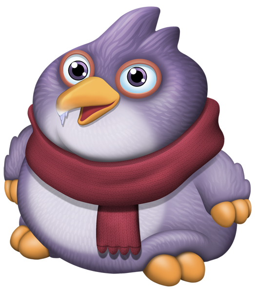 Clipart penguin chilly. Pango dof my singing