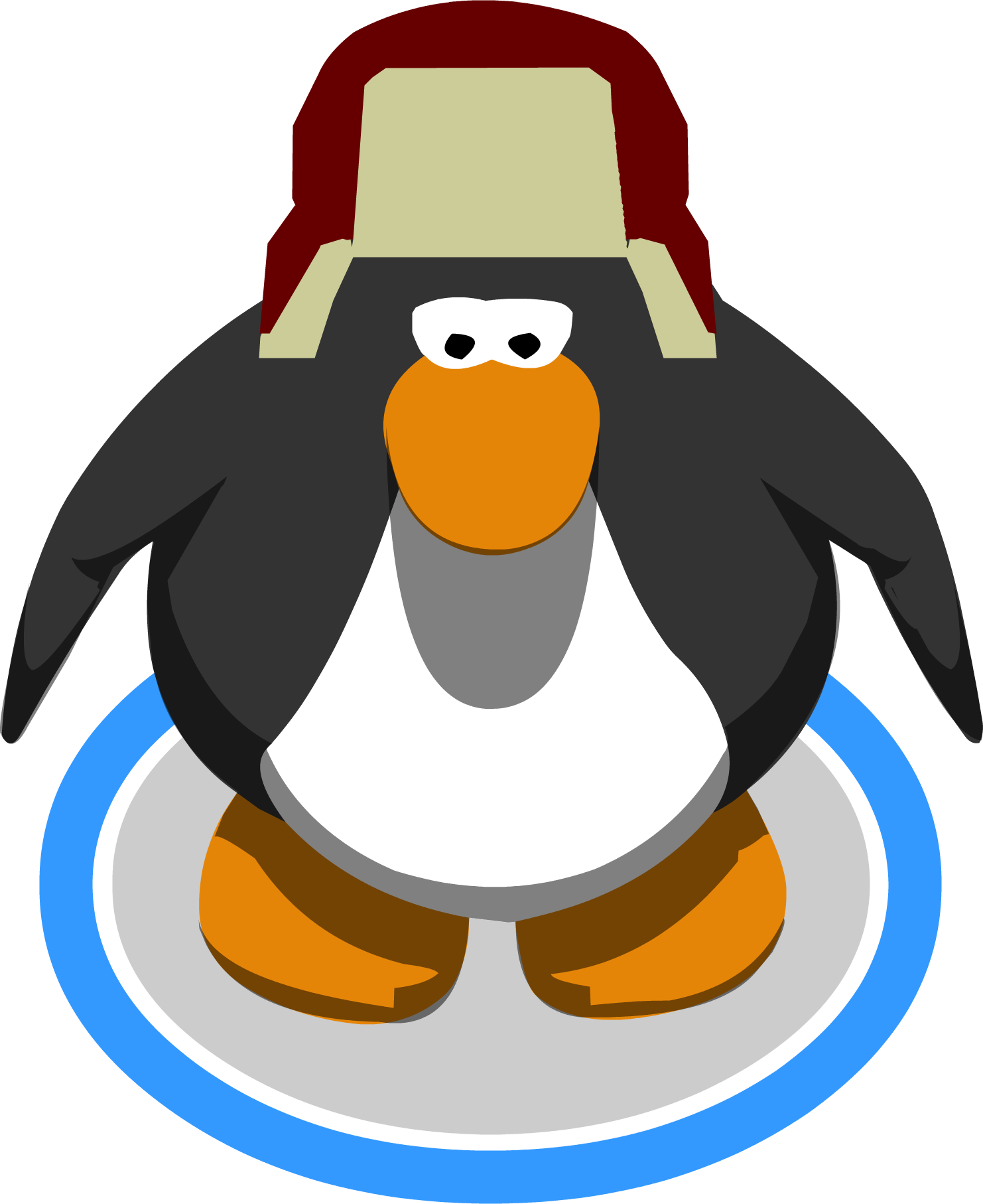 Clipart penguin chilly. Image trek hat ingame