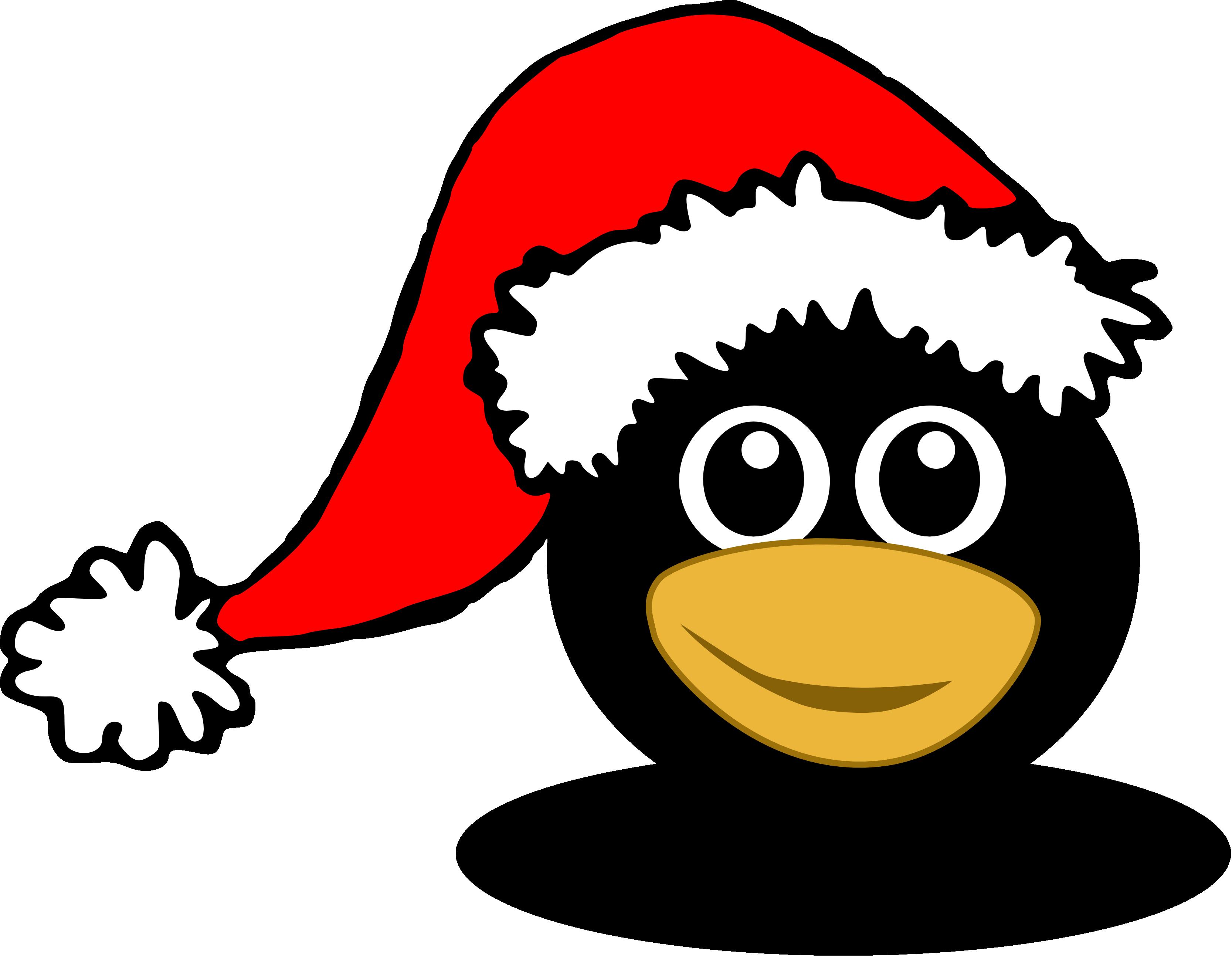 Clipart penquin penguin head. Christmas panda free images