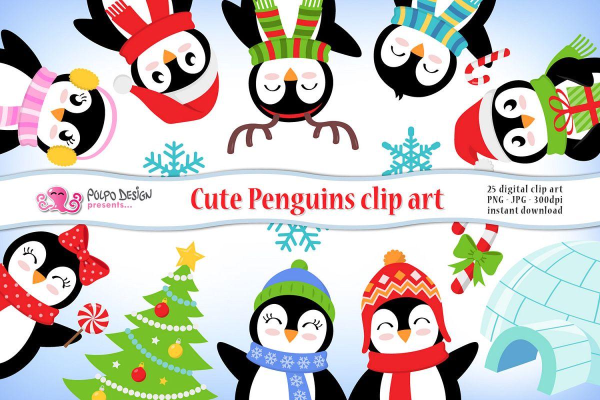 Penguins . Clipart penguin cute penguin