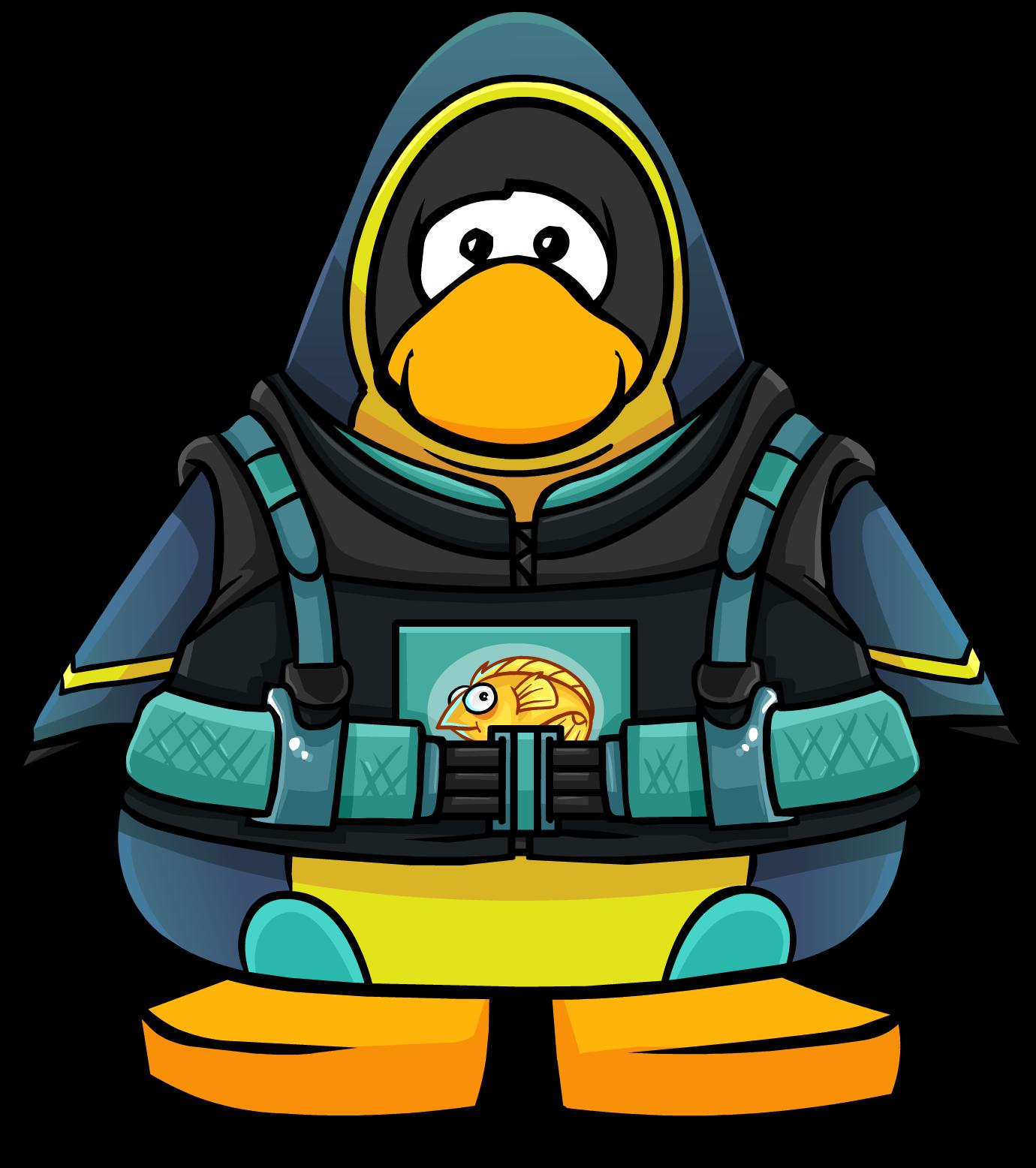 Diver clipart deep sea diving. Suit club penguin wiki