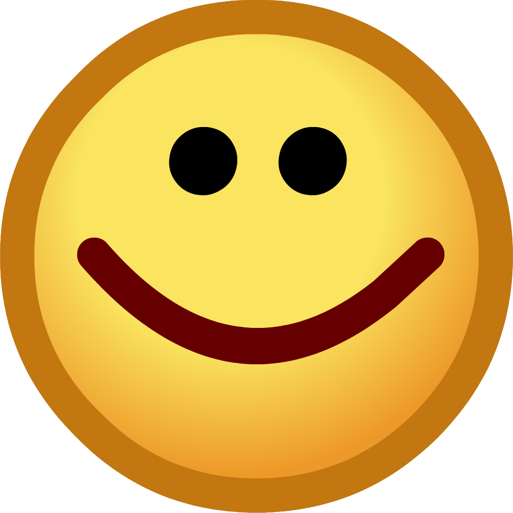 Excited clipart transparent background. Image happy emoticon png