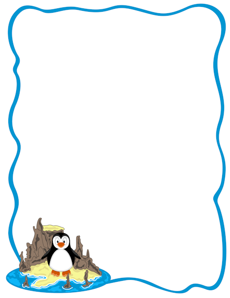 Clipart penguin frame. Pin by muse printables