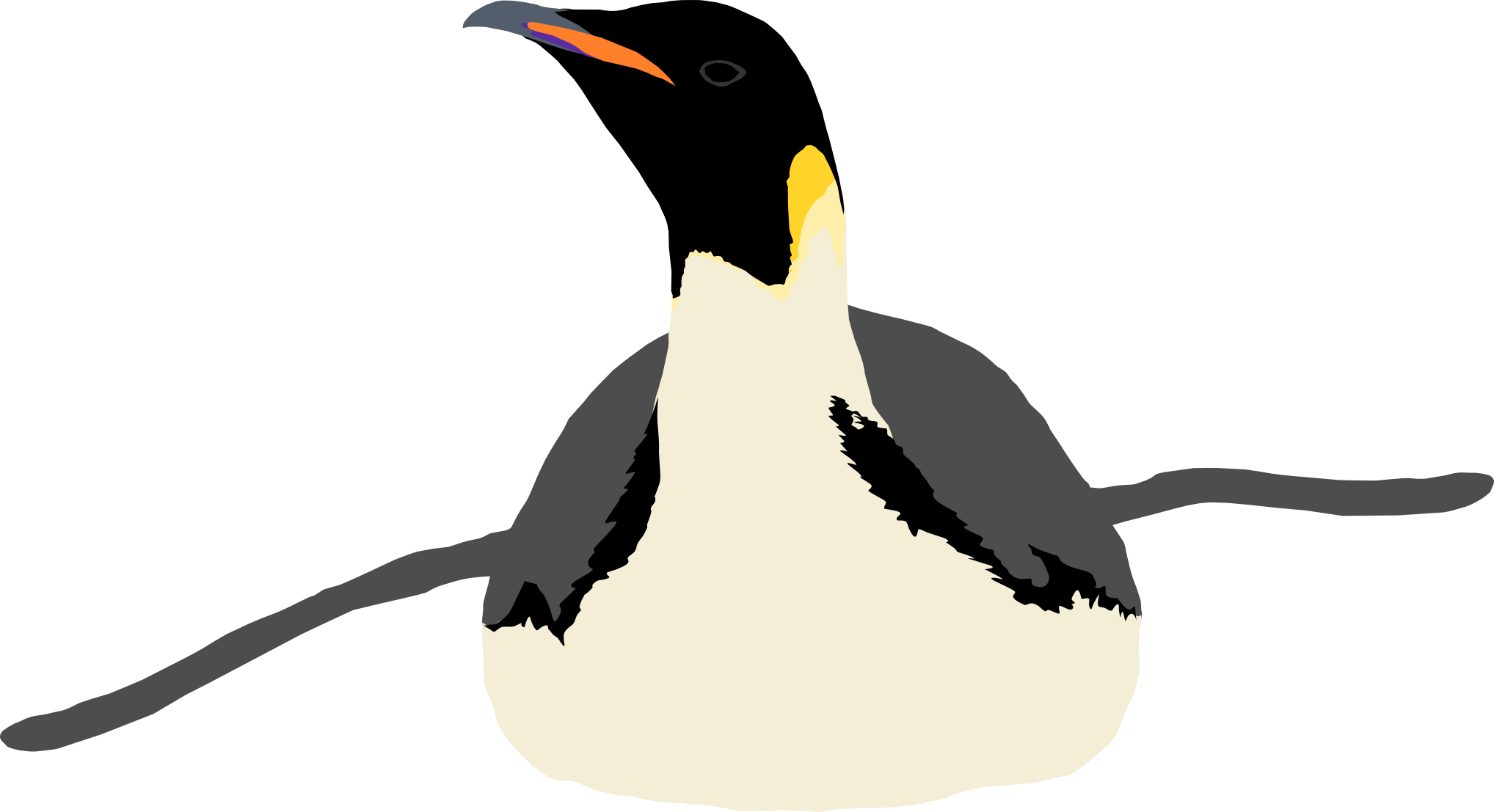 Emperor by michell vall. Clipart penguin gentoo penguin