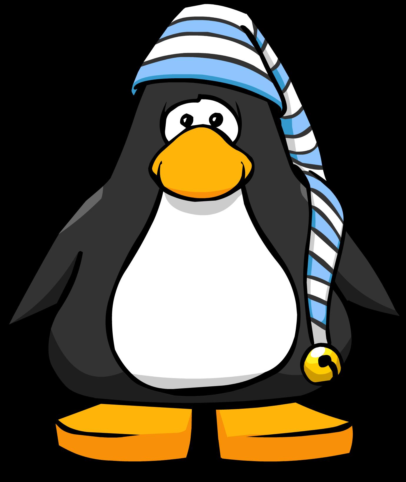 Clipart penguin graduation. Image stocking cap playercard