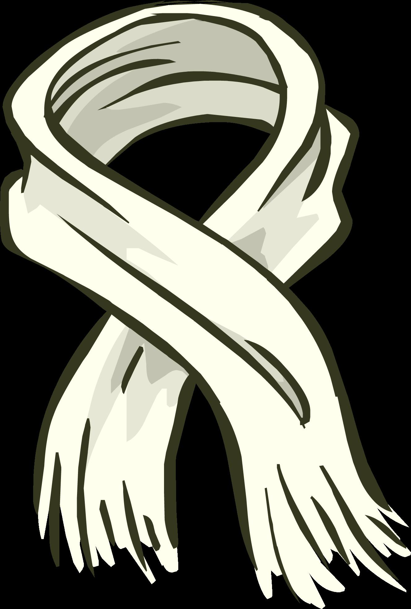 Clipart penguin grey. Big white scarf club