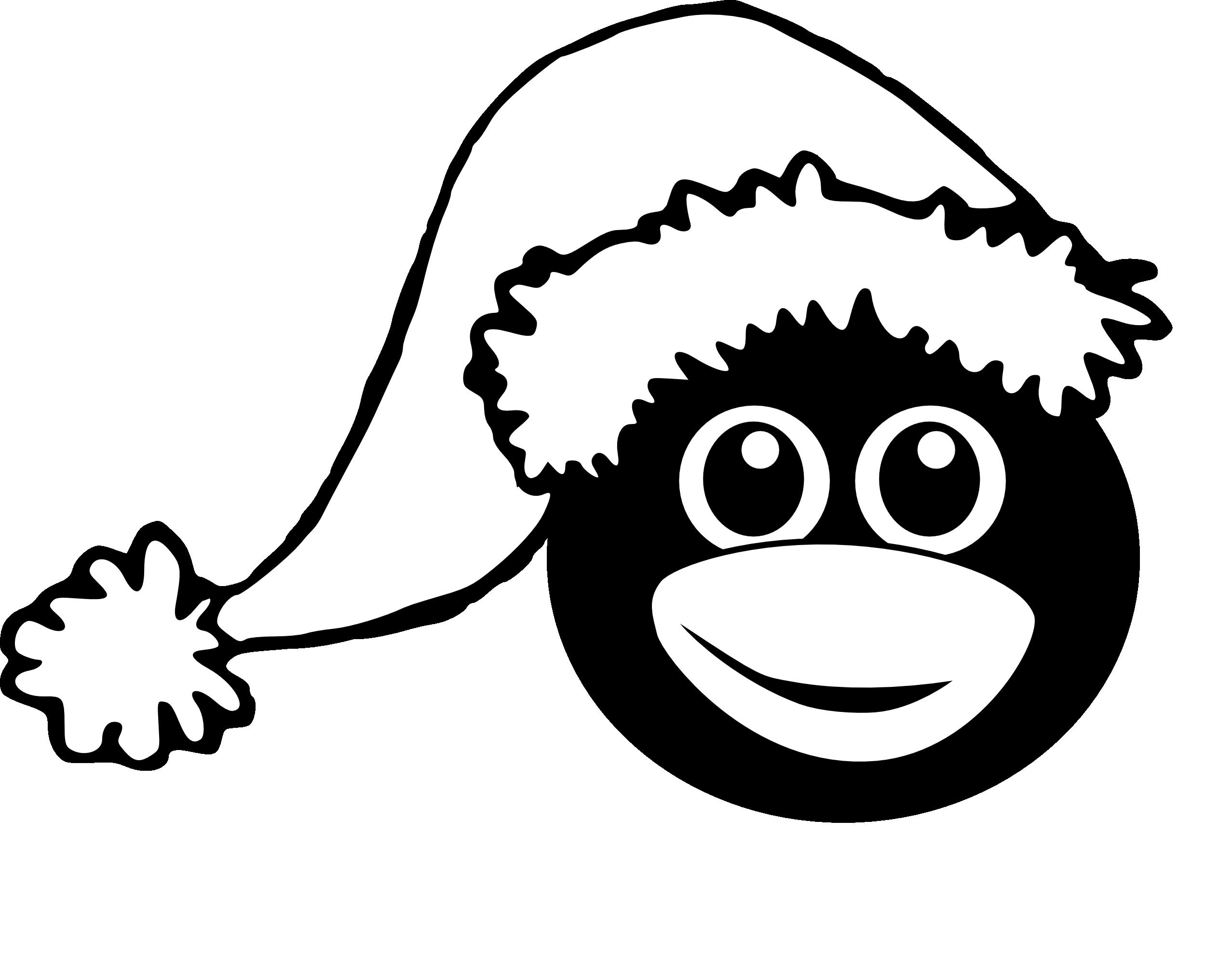 Clipart penguin hat. Explore pictures christmas black