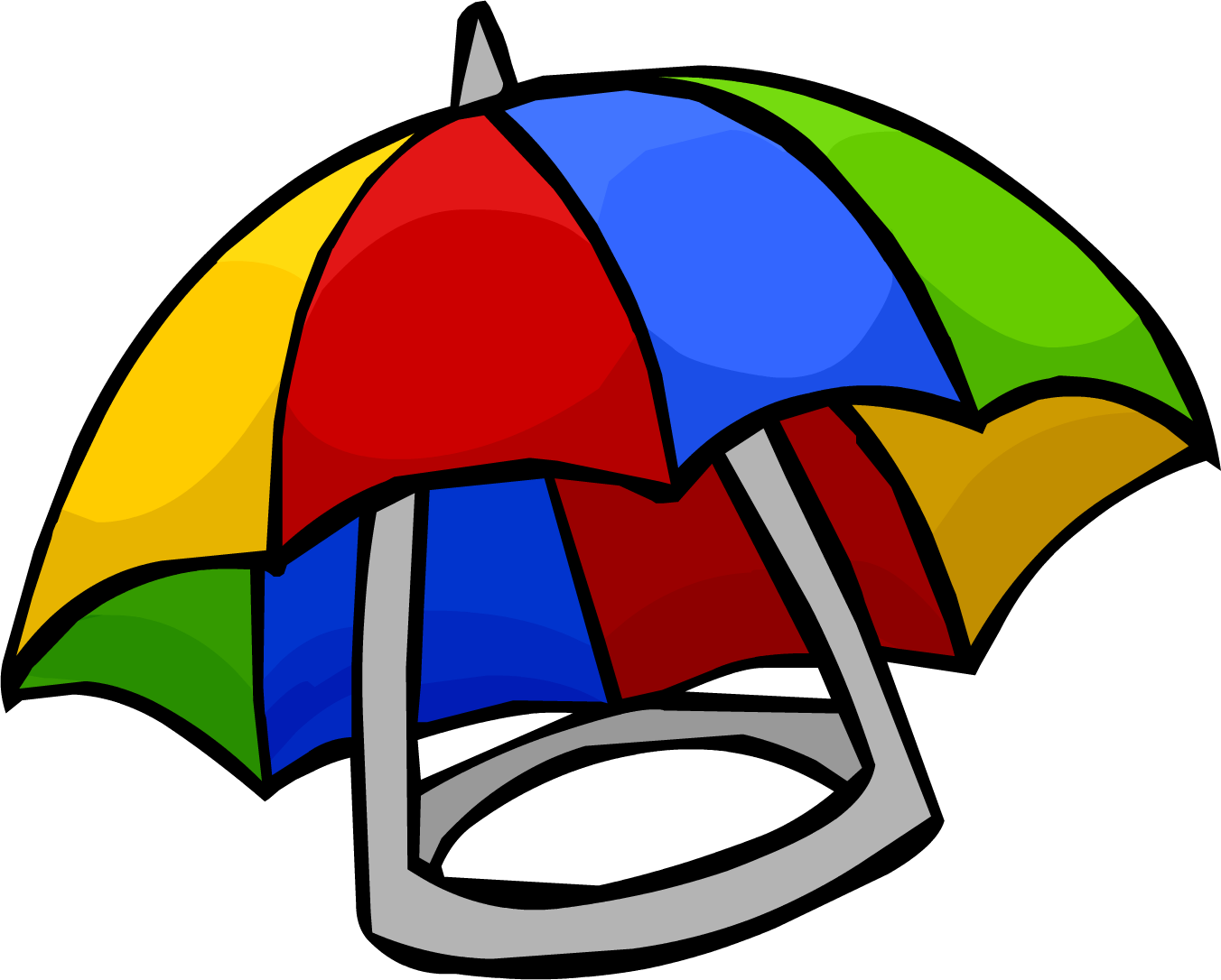 Club clipart party. Umbrella hat penguin wiki