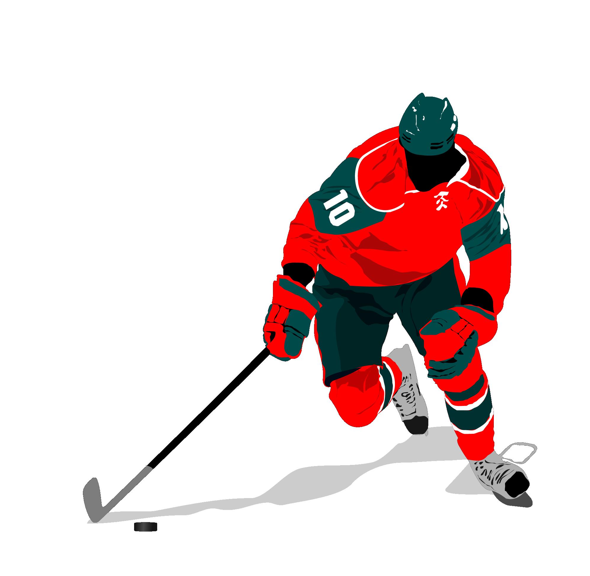 Hockey clipart hockey canada. Pittsburgh penguins ice player