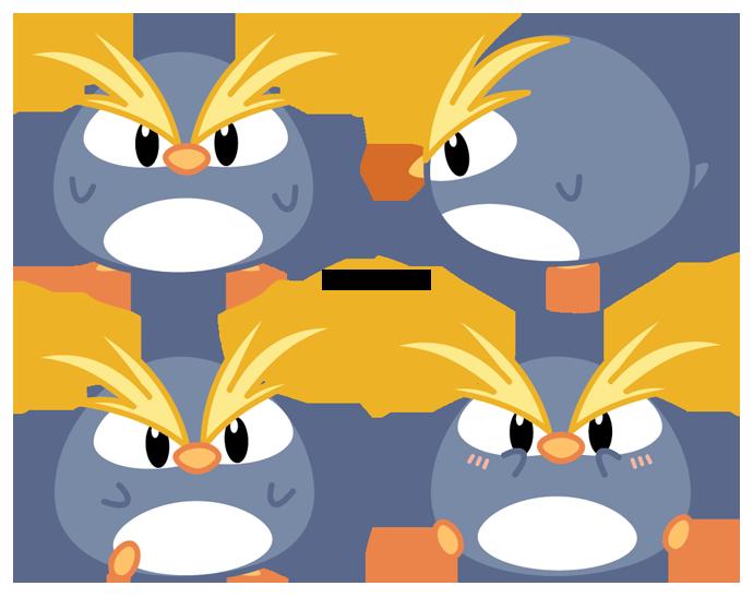 Chibi macaroni penguin by. Clipart penquin kawaii