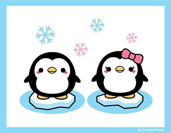 Clipart penquin kawaii.  off penguin cute