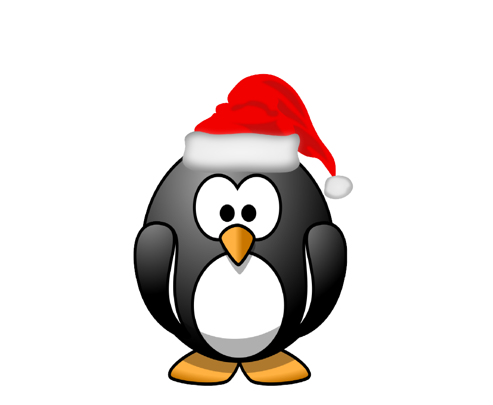 Clipart penquin merry christmas. Clipartist net clip art
