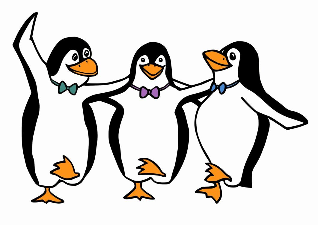 On of penguins kisscc. Clipart penguin line