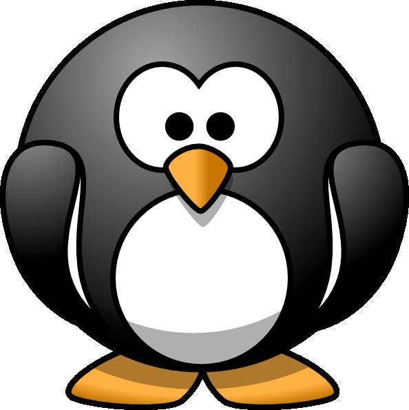 Cartoon clip art at. Hi clipart penguin dancing
