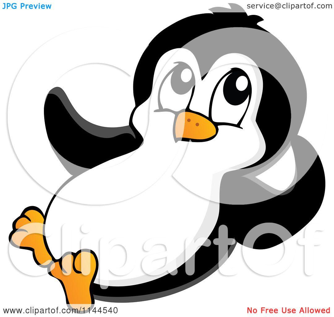 Cartoon penguins of a. Clipart penguin little penguin