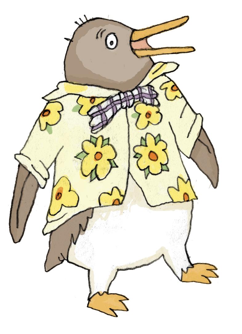 penguin clipart printable