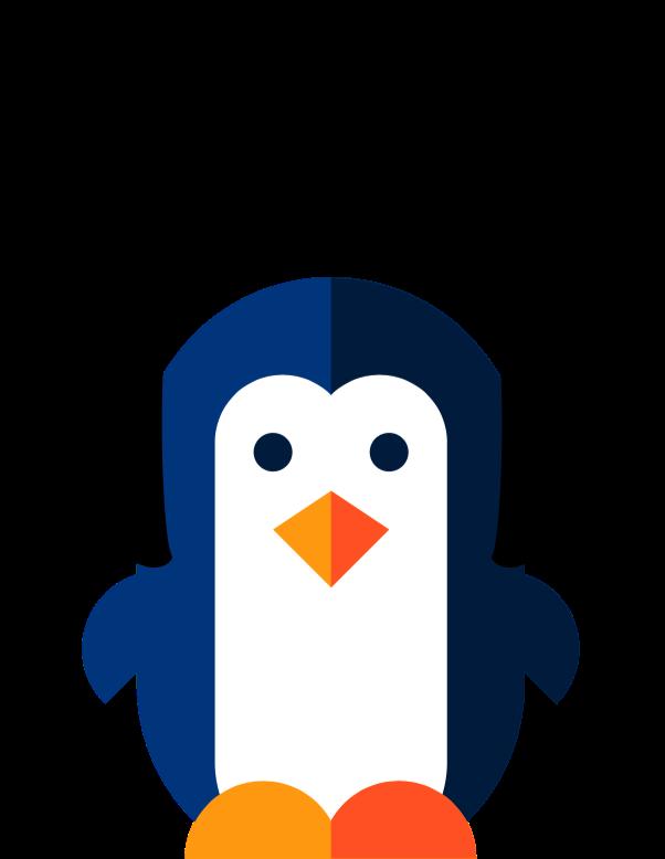 Clipart penguin realistic. Astral penguins uk music