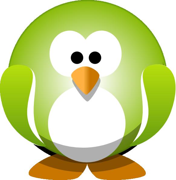clipart penquin button