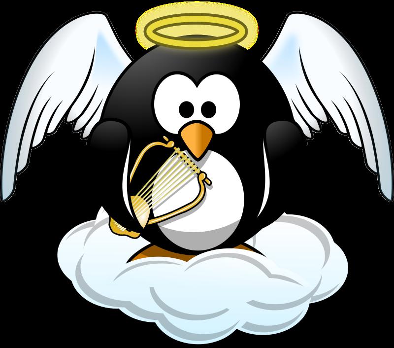 File jessain penguin png. Heaven clipart revelation