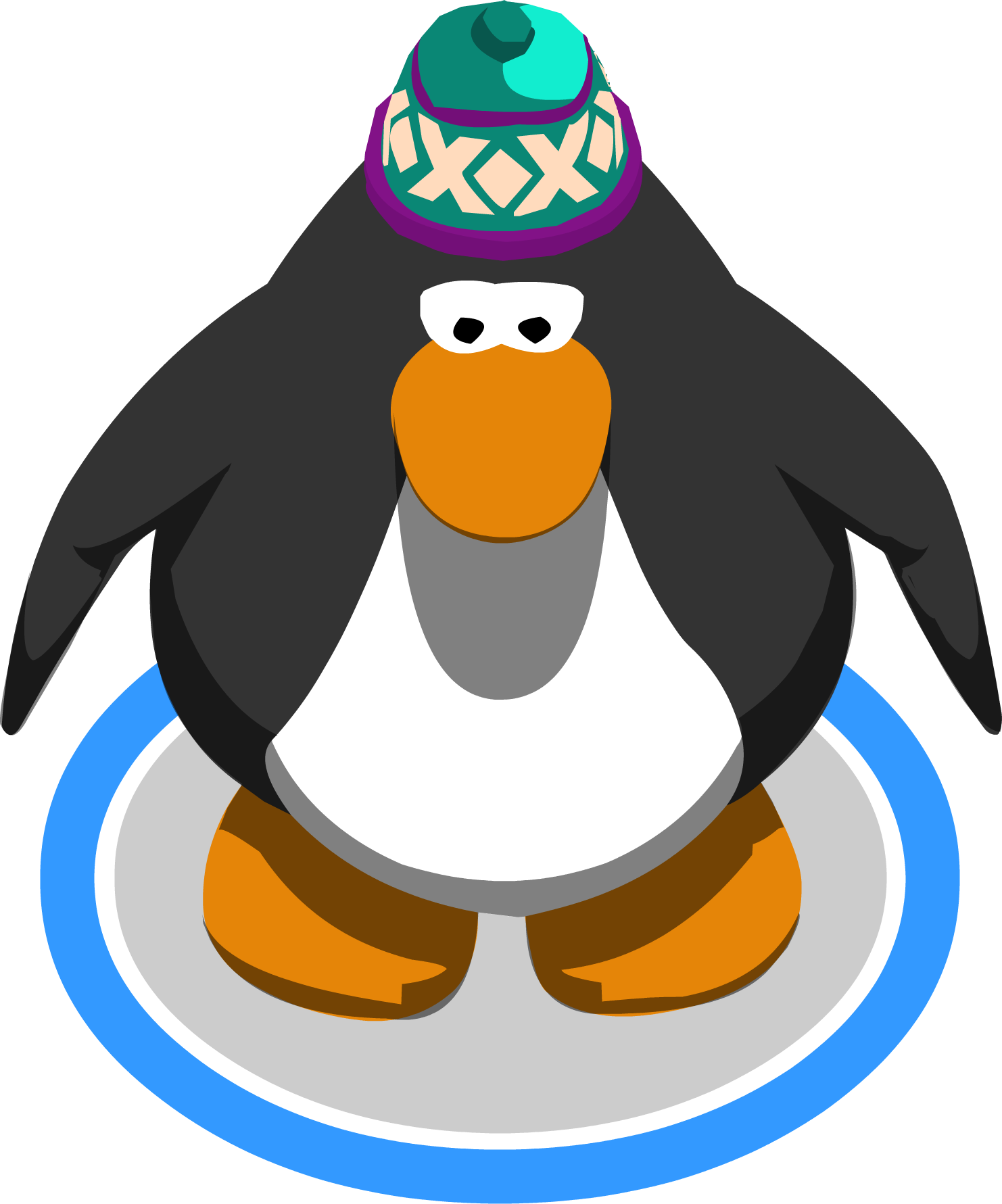 Image hat ig png. Clipart penguin rustic