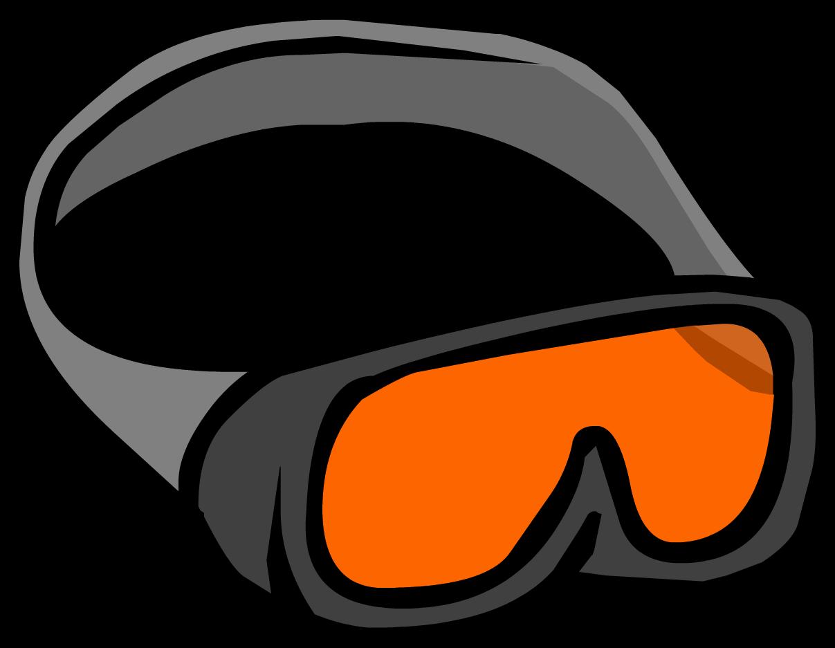 Sunglasses clipart santa. Ski goggles club penguin