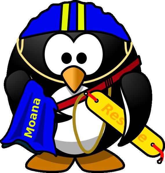 Lifeguard clipart animated. Penguin cliparts pinquin hawaiian