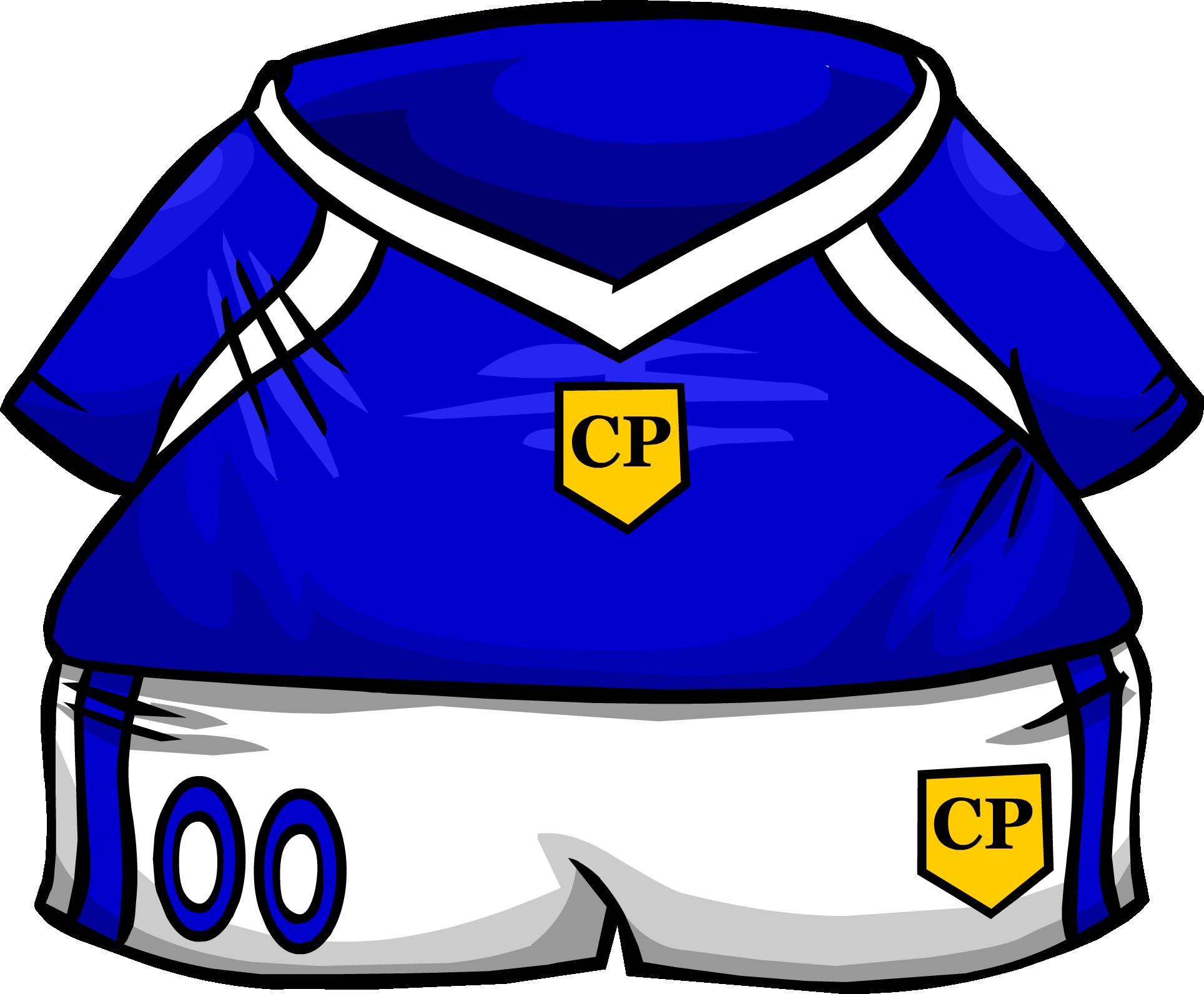 Blue jersey club wiki. Clipart penguin soccer