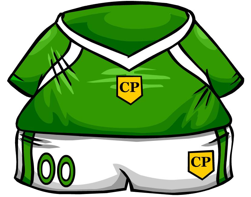 Clipart penguin soccer. Green jersey club wiki