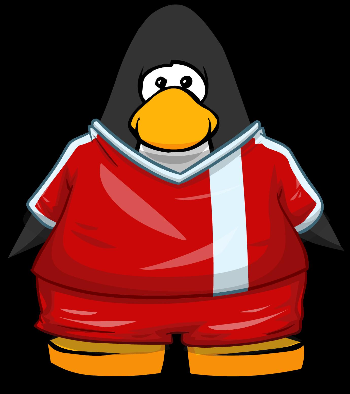 Image custom jersey on. Clipart penguin soccer
