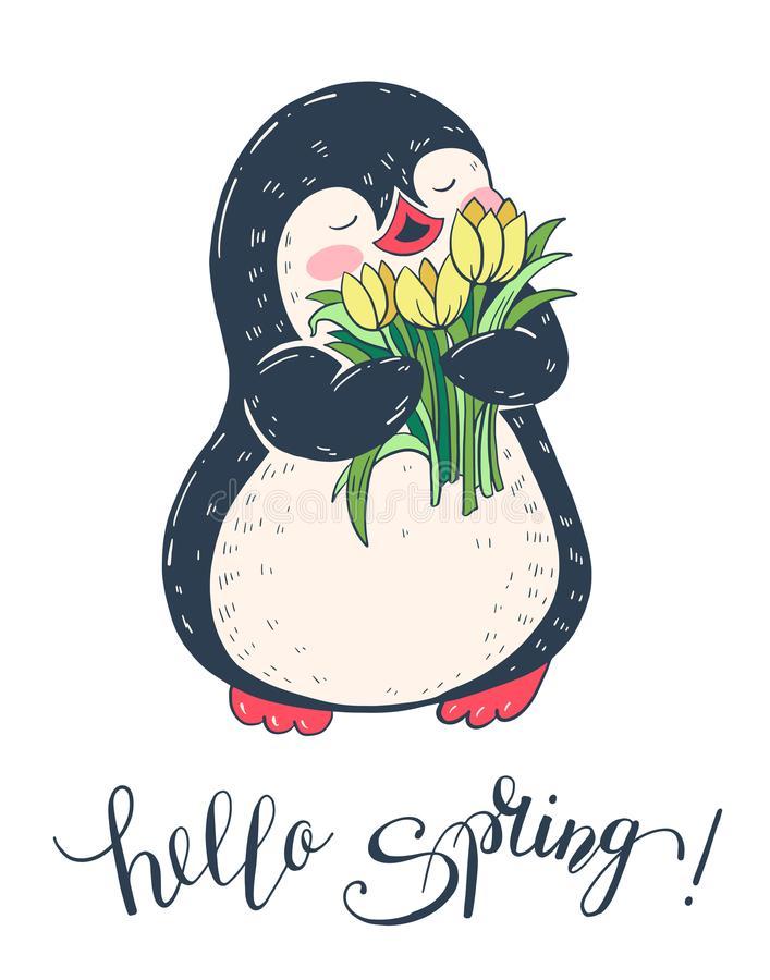 Clipart penquin spring. Clip art penguin arts