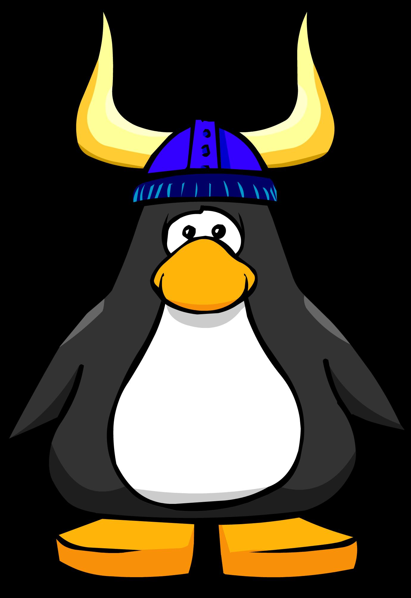 Image blue viking helmet. Clipart spring penguin