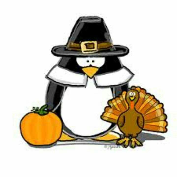 Clipart penquin thanksgiving. Penguin halloween humor